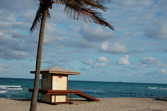 lifeguard stand, Hollywood, Florida