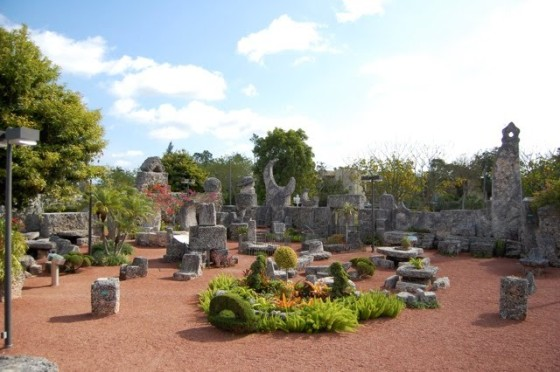 inside Coral Castle, FL