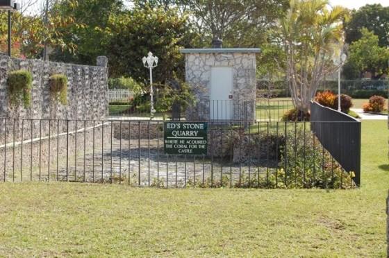 Coral Castle quarry
