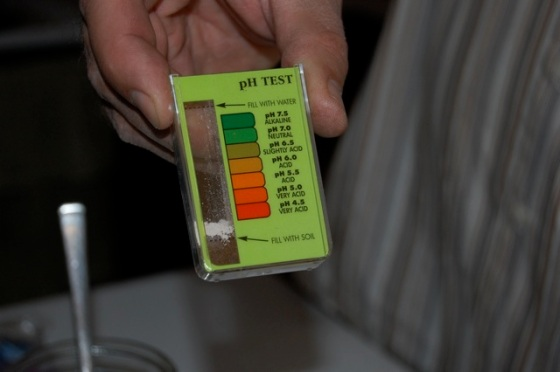 Ph test for soil
