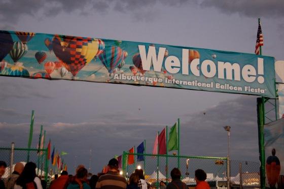 Abq Balloon Fiesta is an international affair