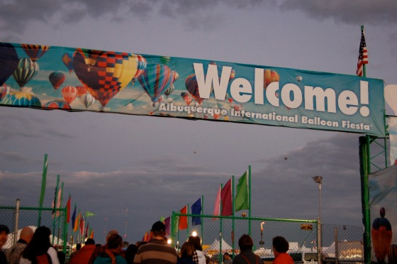 Abq Balloon Fiesta is an international affair
