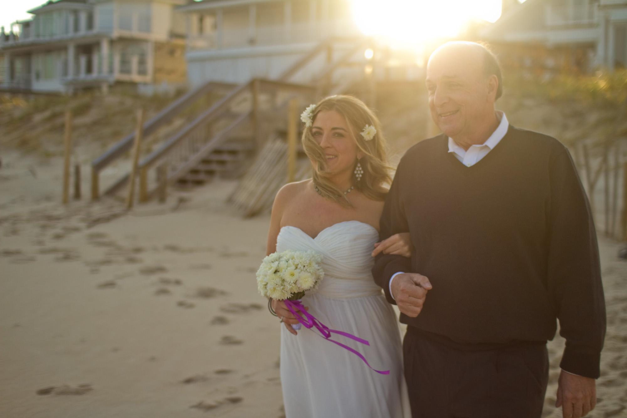 Simple Beach Wedding Setup