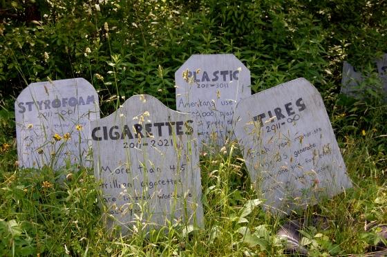 educational trash graveyard