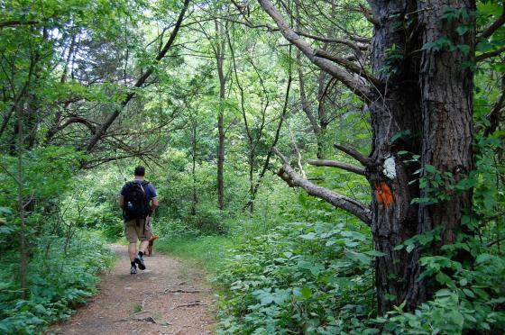walking the Tumbling Water Trail
