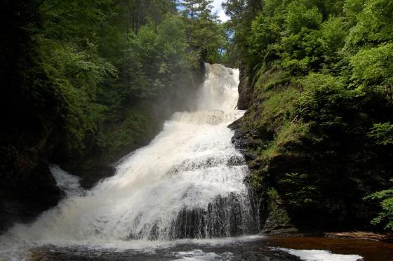 Dingman's Falls- Delaware Water Gap, Pennsylvania