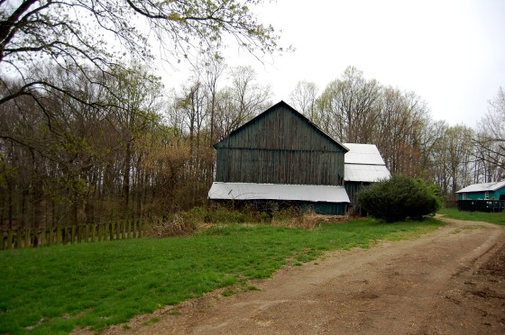 another view of the barn