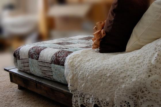 Platform Dog Bed With Steps