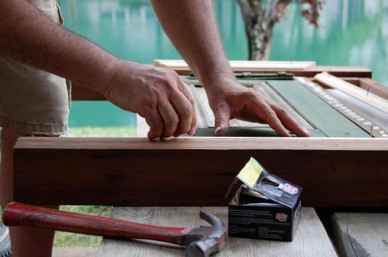 installing moulding on sides